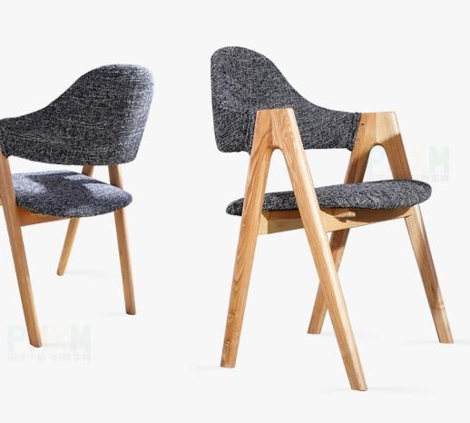Modernen Europa Holz Design Minimalistischen Massivholz Kunst 0vintage Esszimmerstuhl Und Klassisches Stoff Us219 Eichenholz X0Okw8nP