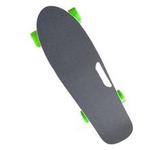 Neue 4 Räder Elektrische Longboard kinder Roller mit Griff Fernbedienung Skateboard Hoverboard Kick Roller für Erwachsene