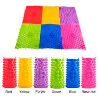 Рефлексотерапия подушка для массажа ног давление пластины мат кровообращение коврик для сиацу зеленый, желтый, розовый красный, синий, крас...