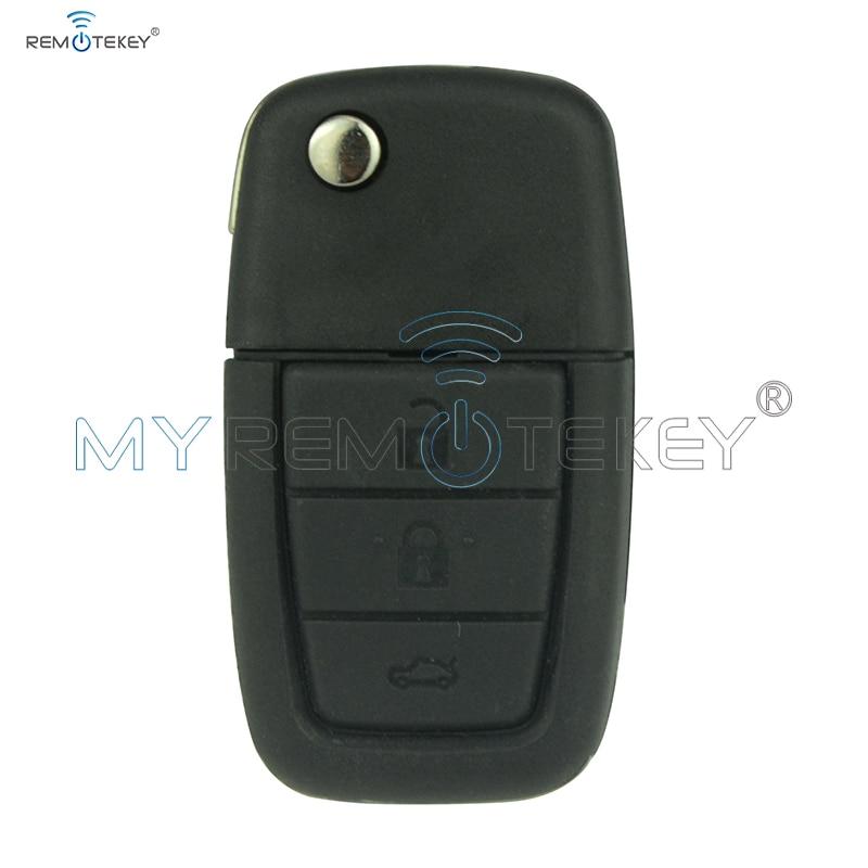 92213311-92252257 дистанционного флип Ключи для Holden VE Commodore 3 кнопки с рогом gm46lck чип 434 мГц GM45 ключ лезвие remtekey