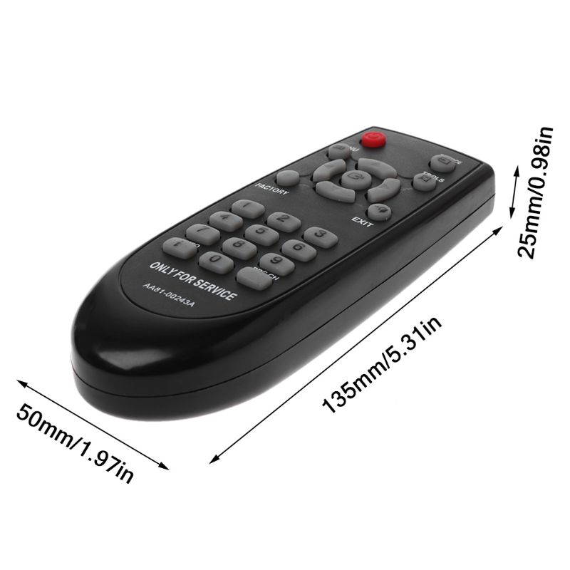 AA81 00243A Remote Control Contorller Replacement For Samsung New Service  Menu Mode TM930 TV Televisions