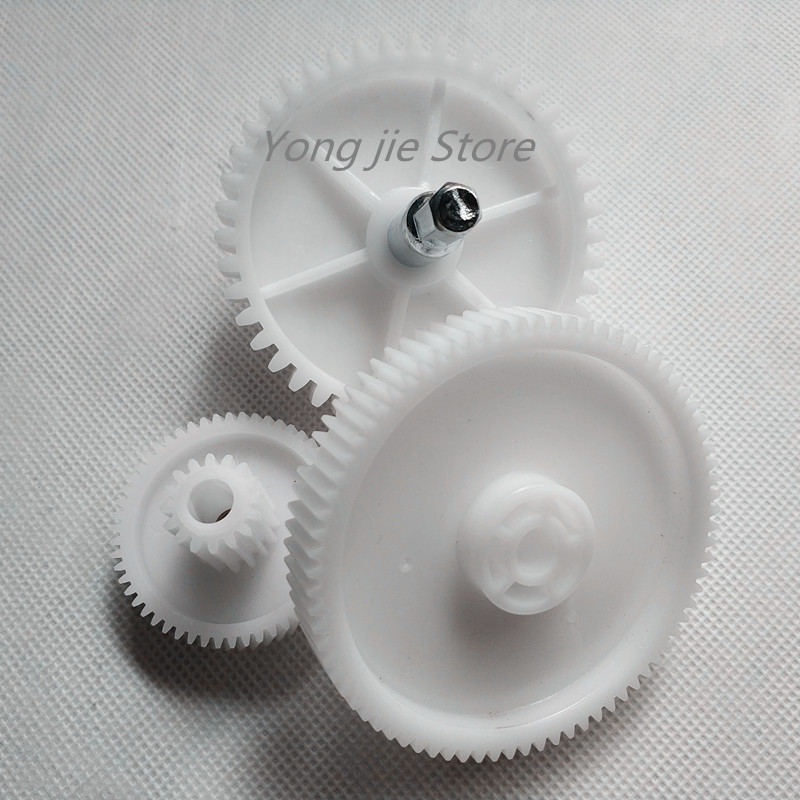 1 set (3pcs) high quality meat grinder parts plastic gear plastic gears VITEK spare parts for meat grinders free shipping 0 5m gear 0 5m plastic gears pom 0 5m 24t stepped gears hole 3mm 4mm 5mm 6mm meat grinder parts etc