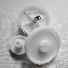 1 set (3pcs) high quality meat grinder parts plastic gear  plastic gears VITEK spare parts for meat grinders meat grinder parts high quality plastic gear plastic sleeve screw for bork cameron