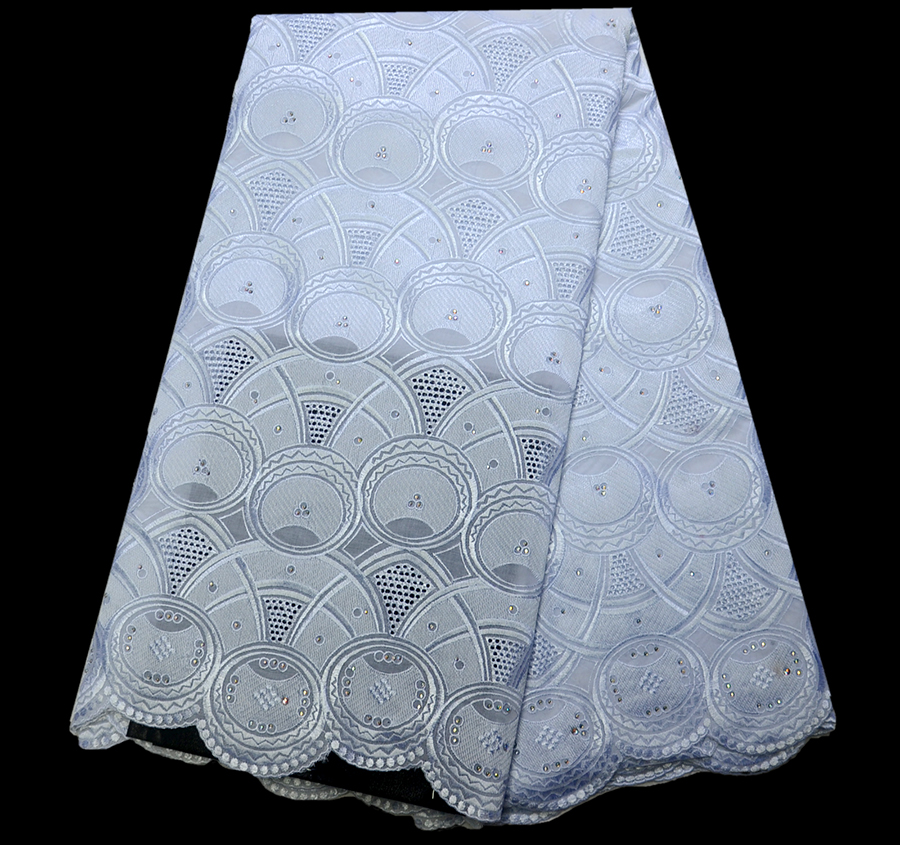 Promotion Sale Embroidery Swiss Lace Fabric Cotton Swiss African Lace white For Party With Stones Nigerian Dry LacePromotion Sale Embroidery Swiss Lace Fabric Cotton Swiss African Lace white For Party With Stones Nigerian Dry Lace
