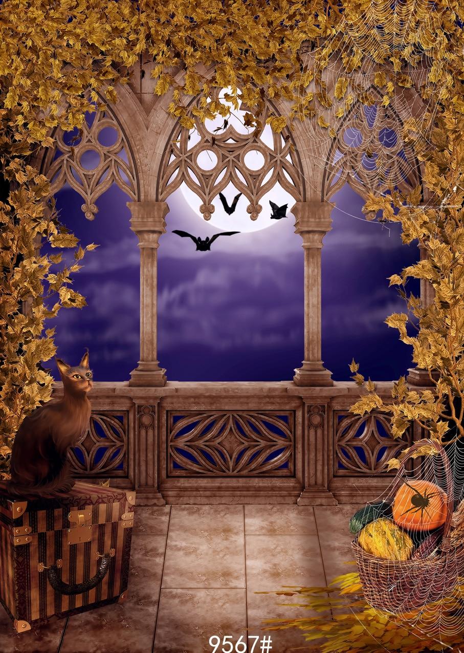 150x210cm Halloween night photography backgrounds