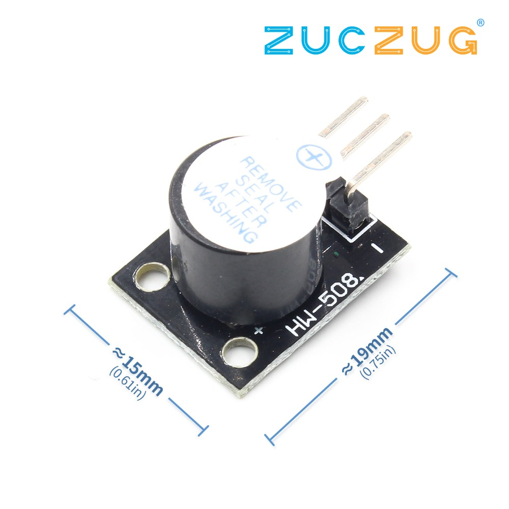 Electrical Instruments Ky-012 Active Buzzer Module For Avr Pic Active Speaker Buzzer Alarm Mode Accessories For Pc Printer Telephone Timer