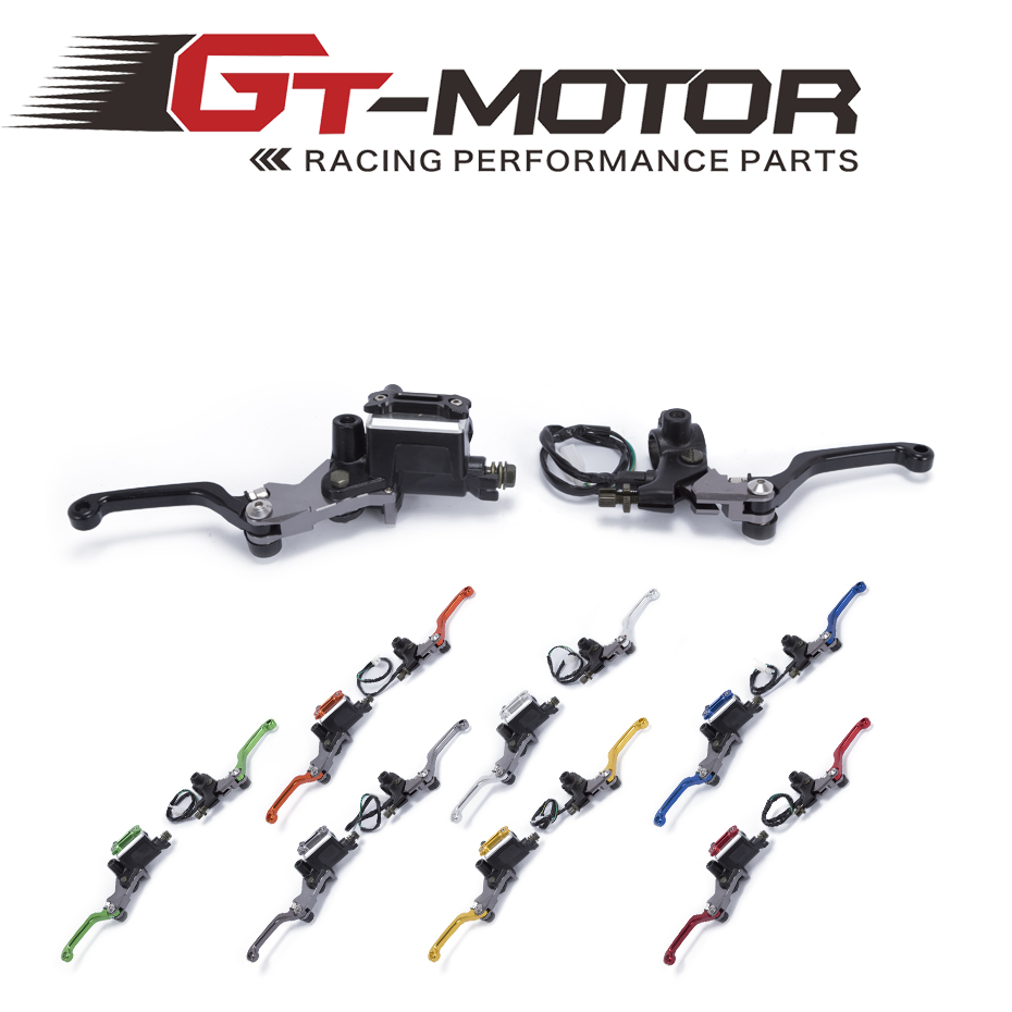 GT Motor - CNC 7/8 22mm Universal Motocross Dirt Bike Brake Clutch Lever For Honda XR230 MOTARD 2005-2009 Hydraulic Brake Lever молочко barex milk developer 9