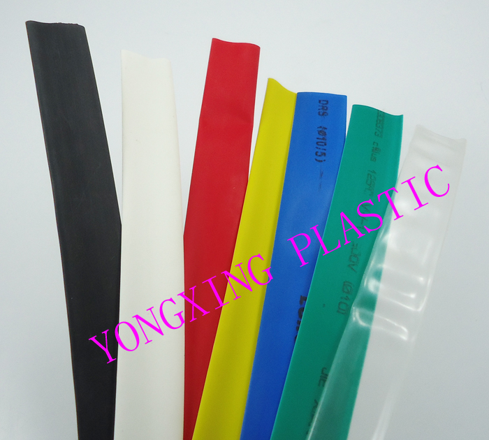 7meter/set 8.0mm Shrink Tubing insulating bush Wrap Sleeve Kit  7 Colors red yellow blue green white black transparent kits