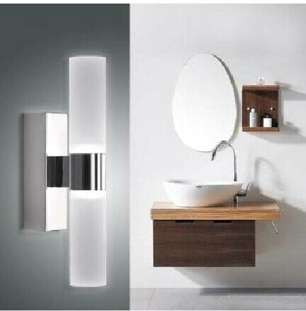 LED badkamer rvs spiegel koplampen slaapkamer wasruimte licht ...