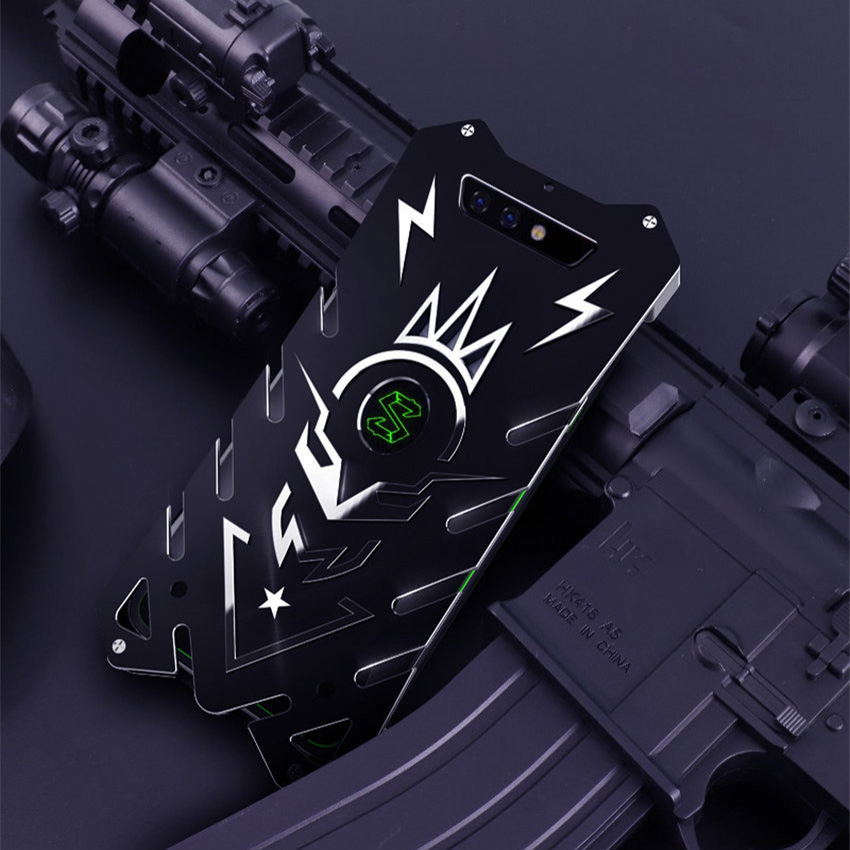 For Xiaomi Black Shark Zimon Luxury New Thor Heavy Duty Armor Metal Aluminum Phone Case For Xiaomi Black Shark Case