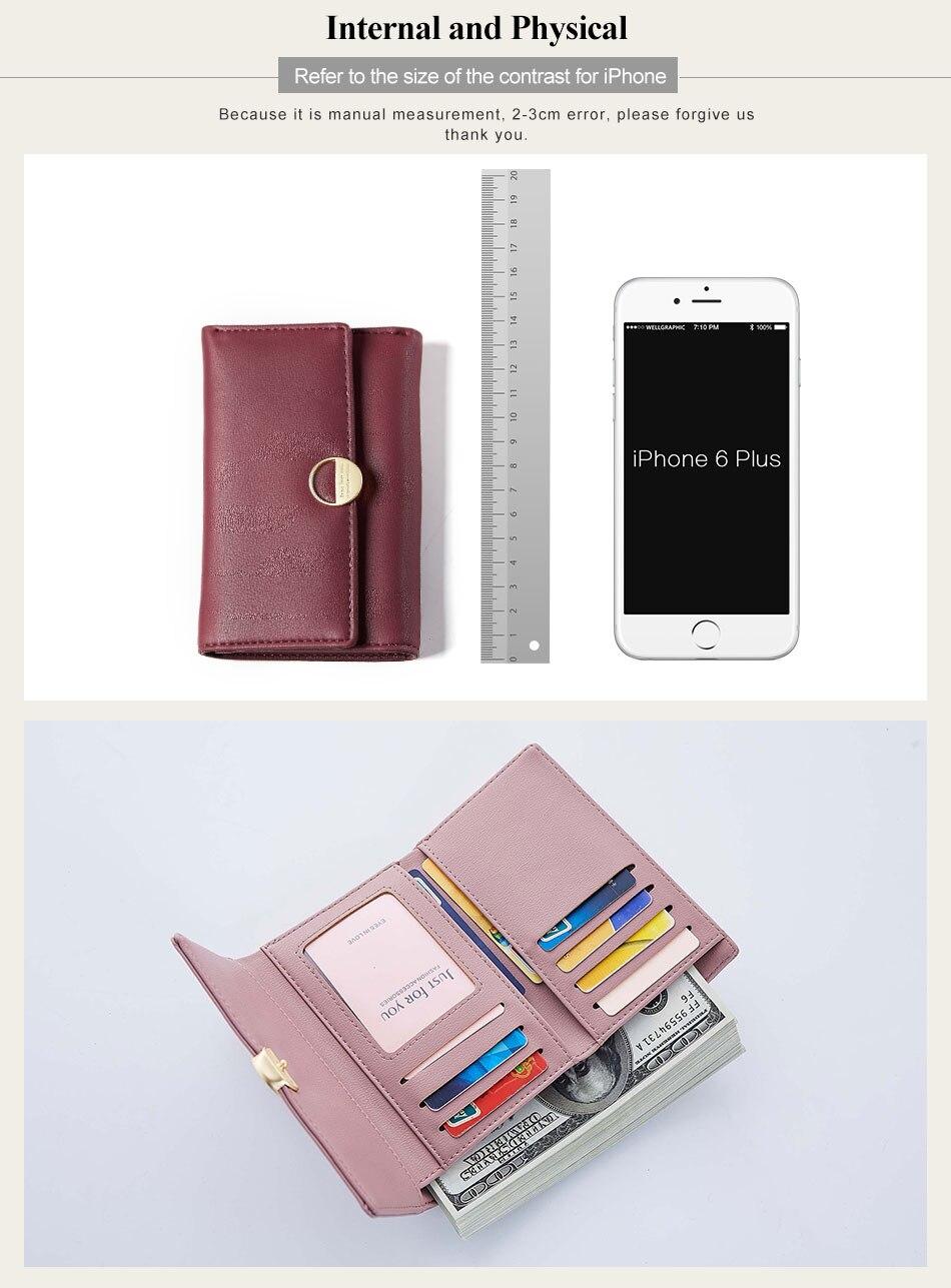 Casual Women Wallets Zipper Coin Purses Pocket Card Holder Torch Tshirt Dusty Pink Merah Muda L Lady Bags Elegant Daily For Girls Fashion Female Purse