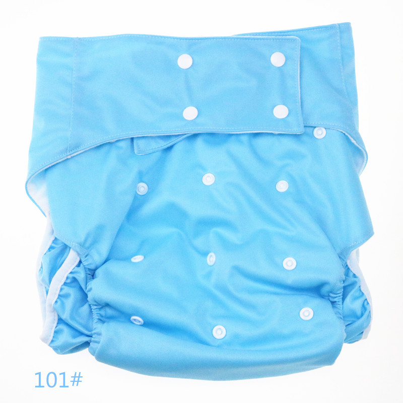 Randomly 1pc Adult Diaper Waterproof Incontinence Adult Diaper Cloth Reusable Machine Washable Disabled Adult Diapers