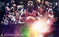 Niestandardowe Naklejki Ścienne 23 Strzał Klasyczne Chicago Bulls Michael Jordan Tapety (50x75 cm) Home Decor Jordan Retro Plakat U1-265