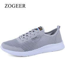 ZOGEER Mens Shoes, Large Size 35-50 Mens Casual Shoes, Brand Designer Lightweight Trainers Men Sneakers Flats