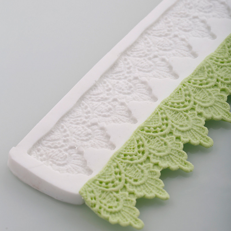 3d Crown Lace Mat Silicone Cake Molds Fondant Christmas