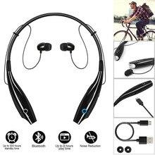 Free Shipping Hot Sale Sport BT4.0 Wireless Headphones Headsets Earphone Neckband Earbuds