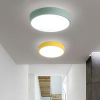 Modern Simple Ultra Thin Round Living Room Ceiling Lighting Bedroom Lights Balcony Ceiling Lamps Led Creative