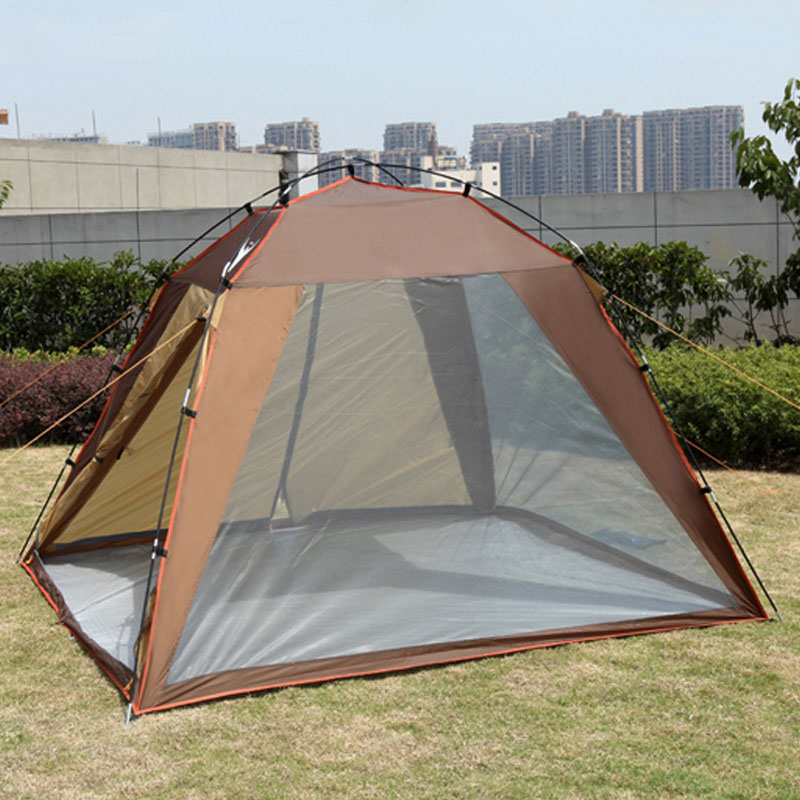 Outdoor Camping Tent 3-4 Beach Tent Camping Tent single Summer Mosquito Children Play Tent outdoor camping tent 3 4 beach tent camping tent single summer mosquito children play tent