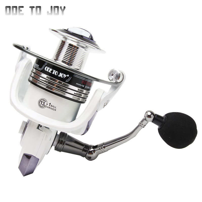 Fishing wheel spinning fishing reel 13 1bb gear ratio 5 2 for Joy fishing tackle