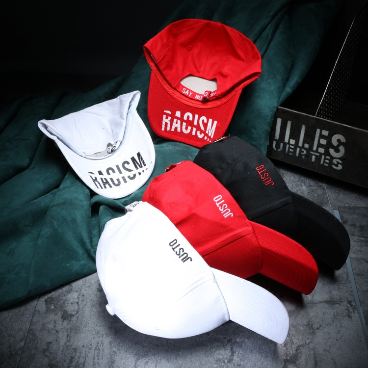 ANTI RACISM Baseball Cap Men Casual Letter Cotton Hats Women Summer Sunscreen Caps Gorras Mujer