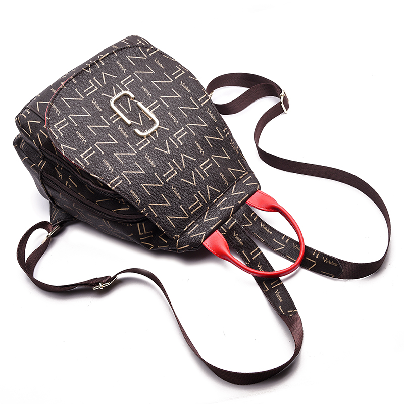 Fashion Trend Women Backpack Female Leather PU Backpack Women Shoulders Bag Casual Daypack Bags Elegant Female Backpack SAC 4