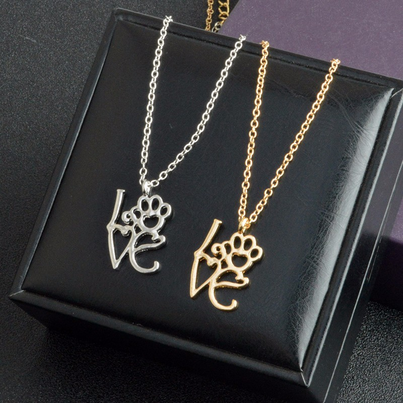 I Love Paw Necklace 12
