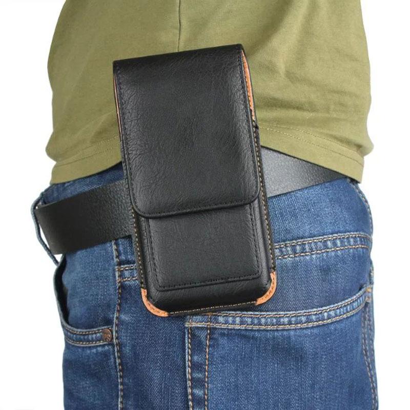 CHEZVOUS 360 Rotasi Belt Clip Pouch Case untuk iPhone 7 6 6 S - Aksesori dan suku cadang ponsel - Foto 5