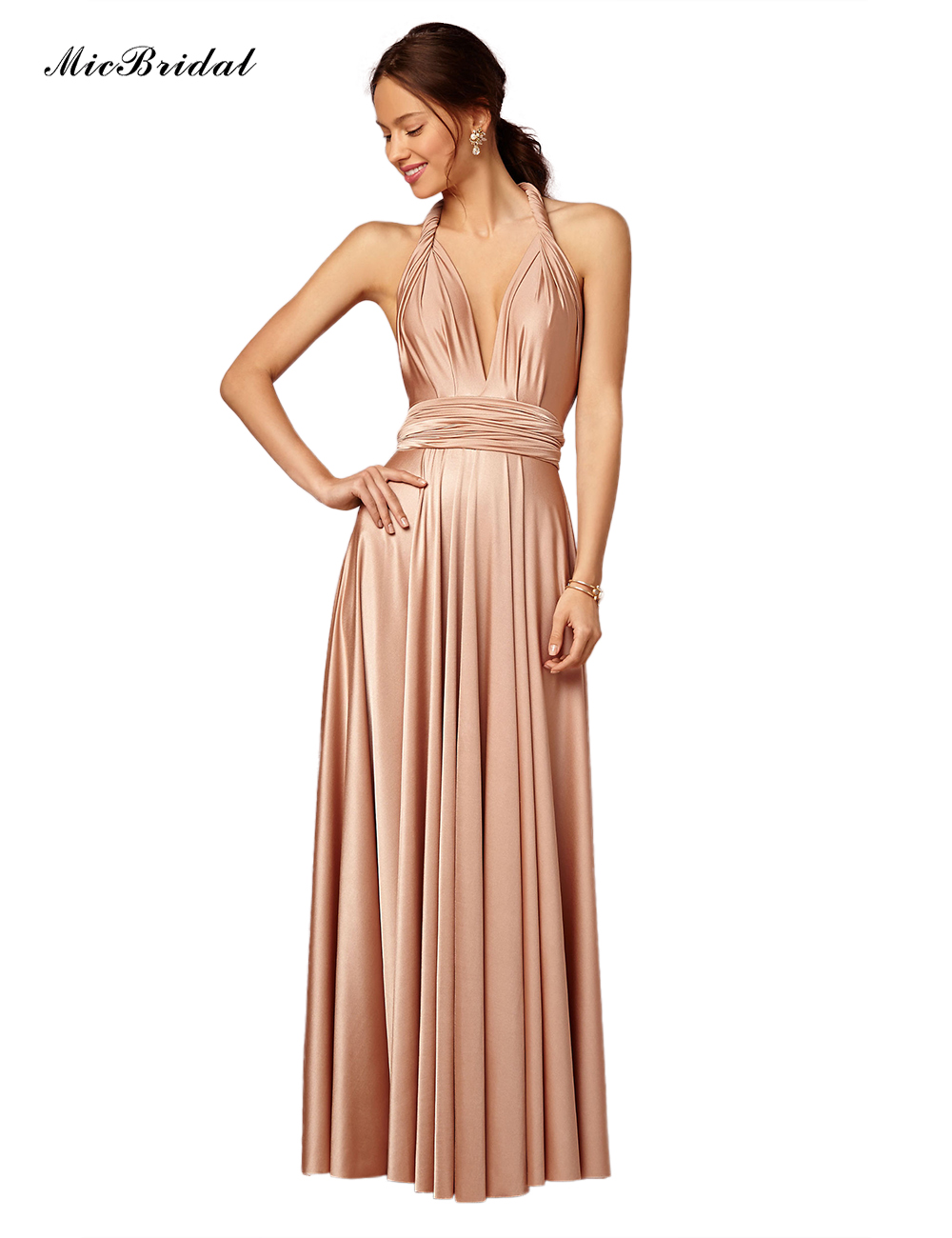 Online Buy Wholesale silk bridesmaid dresses from China silk ...