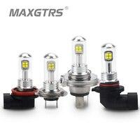 2x H4 H7 H8 H11 9005 9006 40W CREE LED Chips Bulb Daytime Running Light 6000K