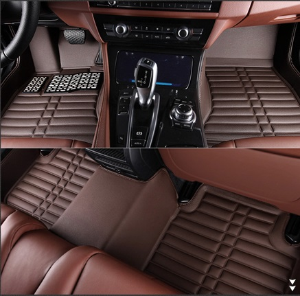 leather car floor mat for Nissan Navara Qashqai Pulsar X-trail Jeep Gand Cherokee floor mat rug