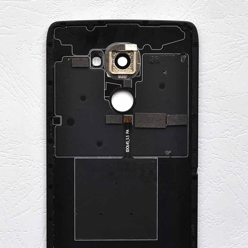 BINYEAE Glass Battery Cover For Alcatel One Touch Idol 4S OT6070 6070K  6070Y 6070 / For TCL 950 Rear Housing Back Case