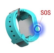 GPS uhr Lage Smart Uhr Baby Armbanduhr Sos-ruf Finder Locator Tracker Anti Verloren Monitor Smartwatch Für kinder Qe0