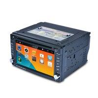 6.2 Сенсорный экран 2 DIN Авто Радио 1080 P dvd плеер мультимедийный плеер с GPS навигатор Поддержка MirrorLink