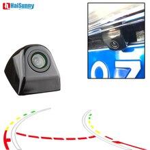 цена на Intelligent Dynamic Trajectory Tracks Wide Angle CCD Universal Night Vision Waterproof Car Rear View Parking Camera