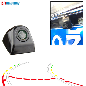 Intelligent Dynamic Trajectory Tracks Wide Angle CCD Universal Night Vision Waterproof Car Rear View Parking Camera