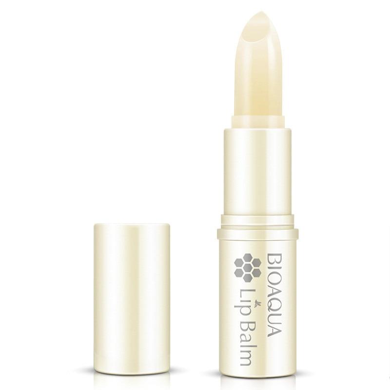Honey Aloe Lip Balm Moisturizing Mild Brighten Lipbalm Makeup Colorless Refine Repair Wrinkles Women Skin Care 2