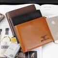 2015 PU carteira/carteira de alta qualidade, clássicos carteira, carteira padrão dos homens