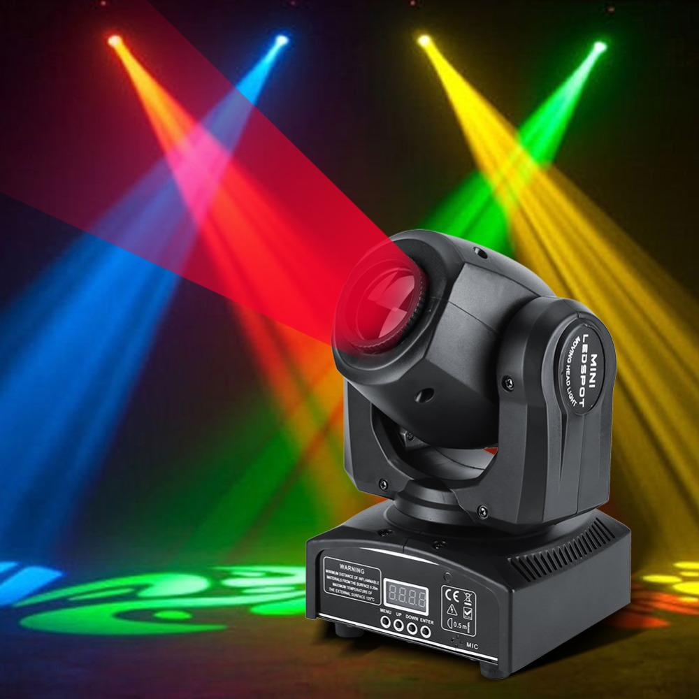 2PCS Lot 30W LED Moving Head Stage Light DMX512 Disco Pub Party Effect Lighting RGBW Night