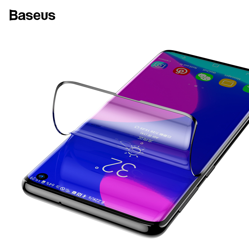Baseus 2PCS Screen Protector Tempered Glass For Samsung Galaxy S10 Plus Front Protective Glass Film For Samsung S10 S 10 S10plus