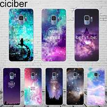 b991353acaff ciciber Northern Lights Samsung Galaxy S 5 6 7 8 9 Edge Plus Phone Case  Silicone TPU For Galaxy Note 4 5 8 9 Cover Fundas Coque