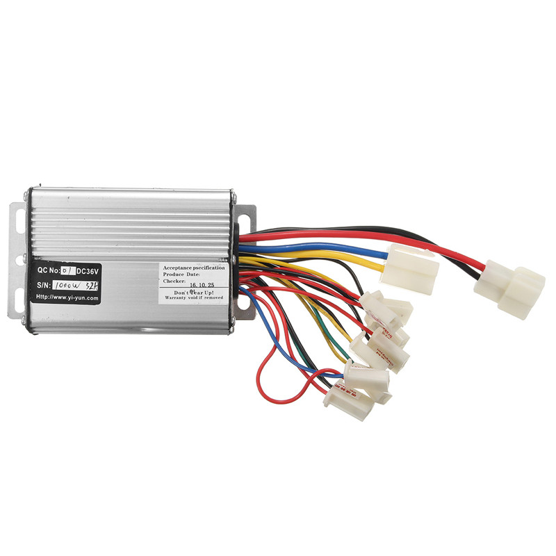 <font><b>36V</b></font> 1000W Electric Scooter <font><b>Motor</b></font> <font><b>Brush</b></font> Speed Controller For Vehicle Bicycle Bike Best Price image