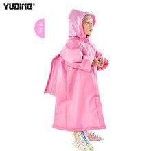 Yuding Toddler Kids Raincoat EVA Rain Coat Hooded Boys Girls Rain Poncho Impermeable Raincoat For Children
