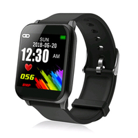 New Smart Bracelet Z02 PPG Continuous Heart Rate Color Screen Sports Smartband Waterproof Smartwatch Blood Pressure Monitor Band