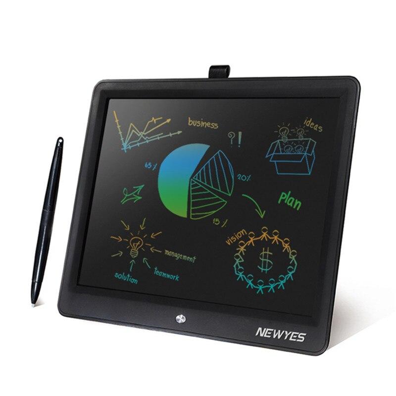 NEWYES tablette d'écriture LCD 15 pouces dessin numérique écriture électronique Pad Message graphique conseil d'écriture arc-en-couleur