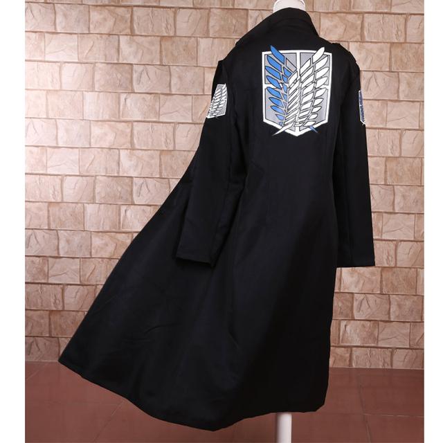 Survey Corps Black Cosplay Coat