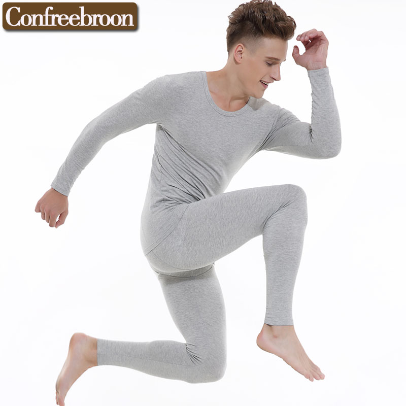 8832035a2 Men's Thermal Underwear Sets Blending By Modal And Cotton High Elastic Soft  Bodysuit Male Thin Warm Long Johns In Winter 095255-in Long Johns from ...