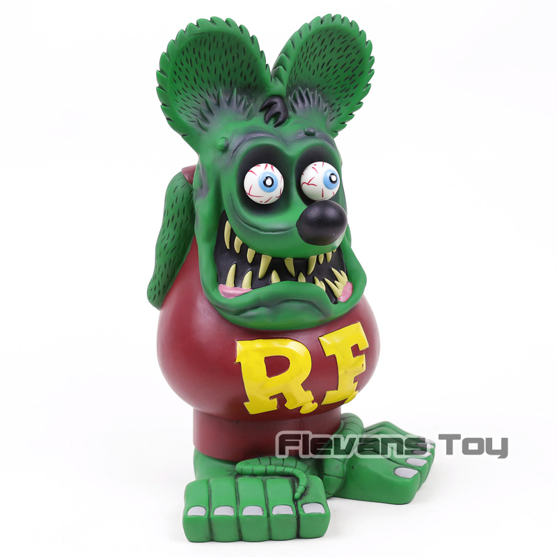 32cm New Arrival Rat Fink BIG DADDY PVC Action Figure Collectible Model Toys