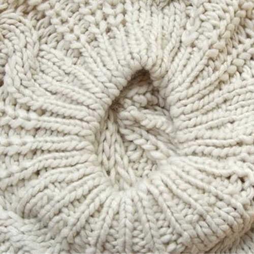 المرأة الحلو الكروشيه الدافئة بلون قبعة الفنان فضفاض قبعة الشتاء قبعة هدية