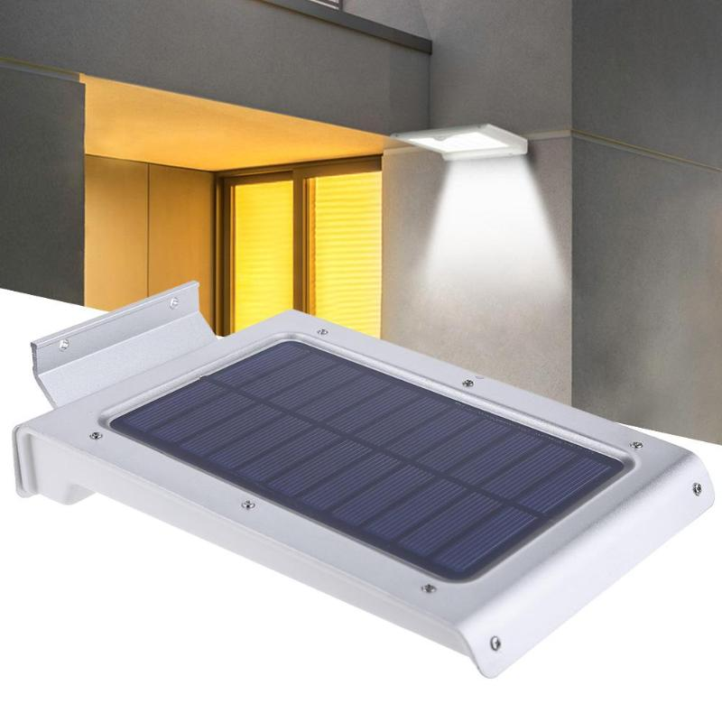 46 LED Solar Motion Sensor IP65 Waterproof Garden Path Wall Emergency Light Wall lights/ ...
