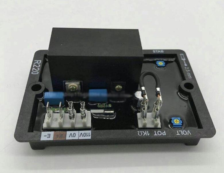 LeroySomer Generator AVR R220 Leroy Somer brushless generator avr high quality avr r250 for leroysomer generator